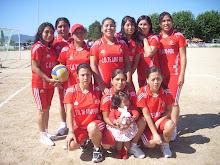 Equipo de Voleyball Femenino Peruano