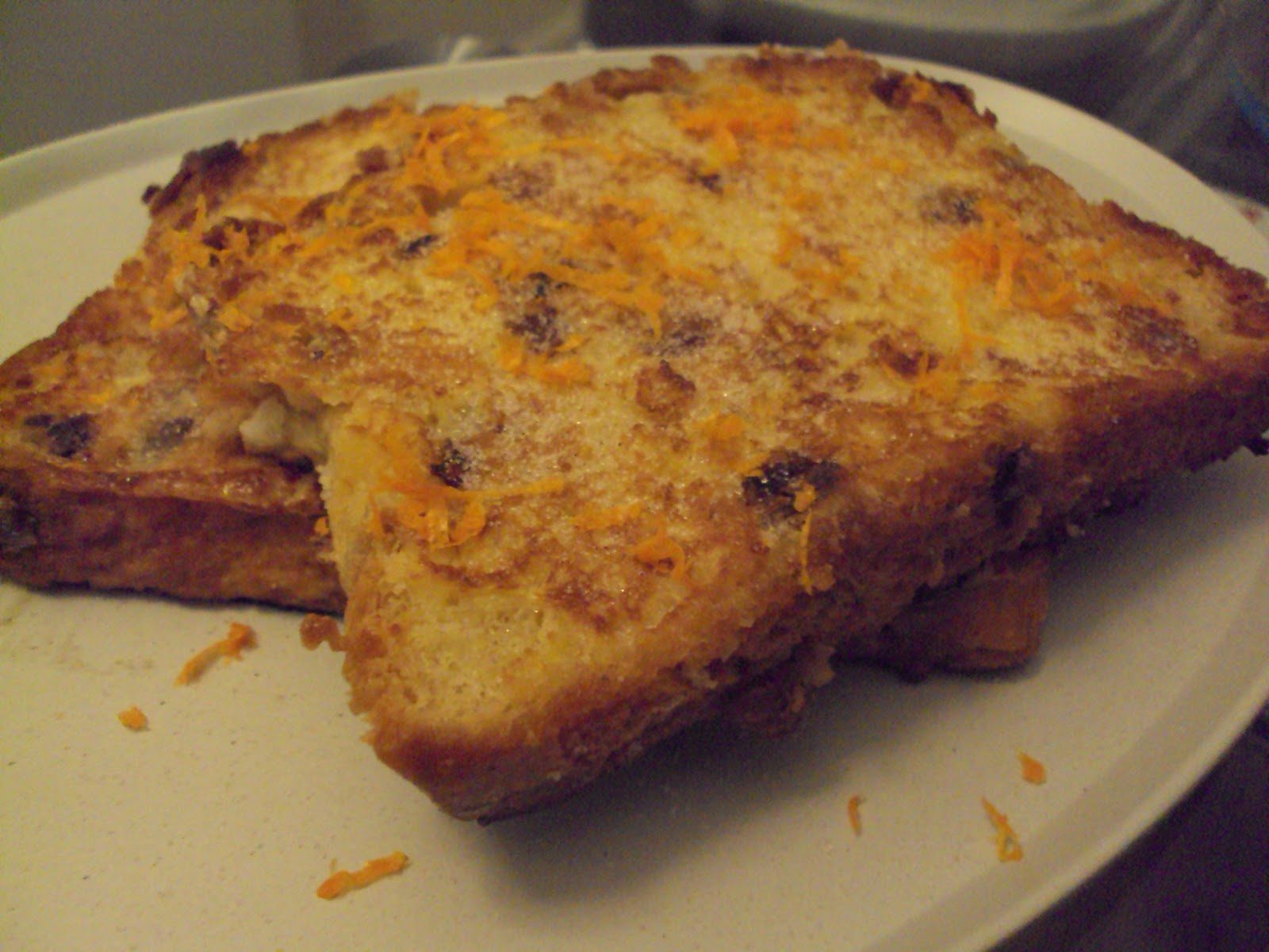 Christmas Eve, Day and Panettone French Toast