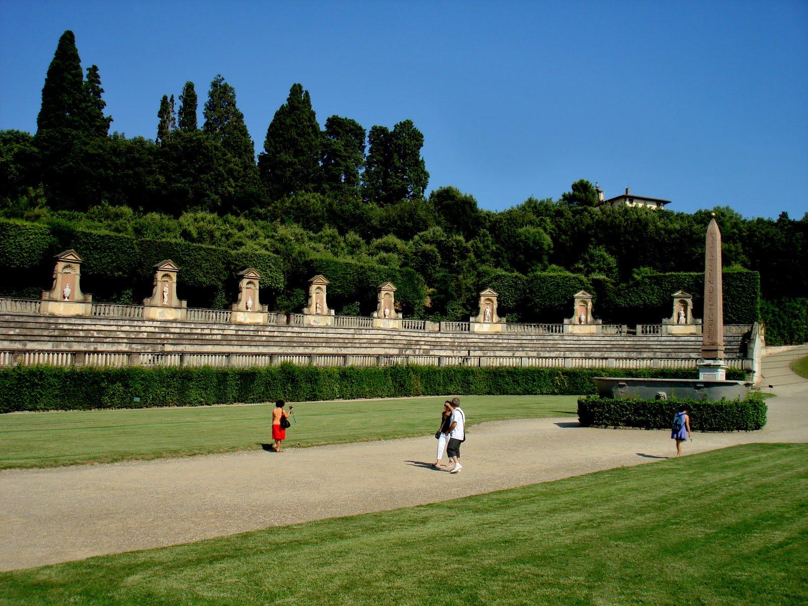 Maria s Italian Adventure Pitti Palace & Boboli Gardens July 22