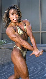 sex Asian female bodybuilder