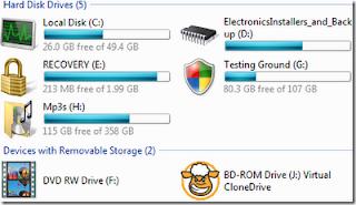 Vista drive icon Diskicons24