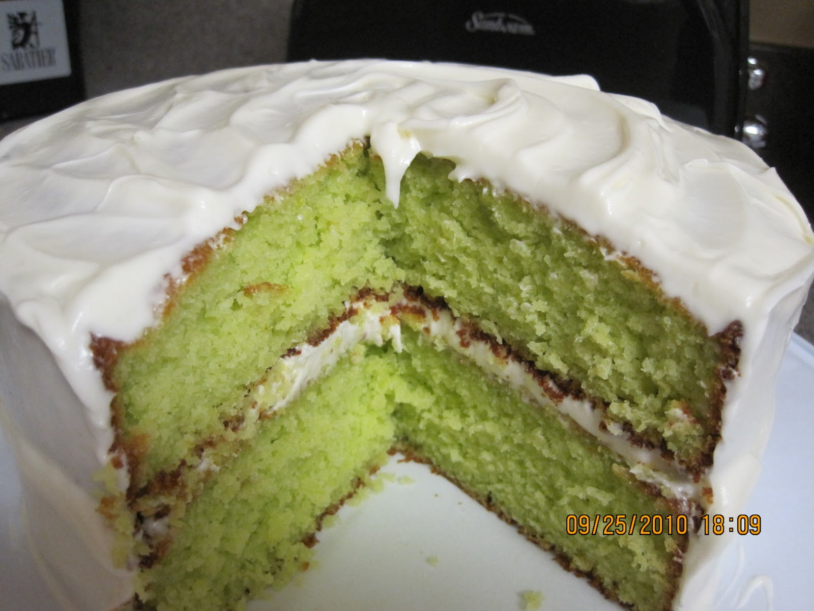 Key Lime Box Cake Recipe