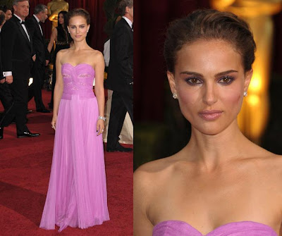 Natalie Portman. I wouldn't wear this dress myself because it would not suit