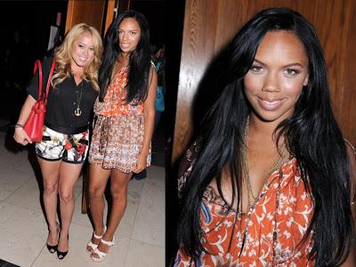 The Cheetah girls Sabrina Bryan & Kiely Williams.