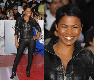 Nia Long. I'm so glad she went back to her old hairstylereminds me of the