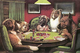Nithyananda Dogs Play Poker