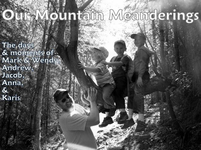 Our Mountain Meanderings