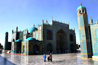 Mazar-e_sharif in Afghanistan
