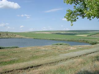 Lake Raionul Orhei in Moldova