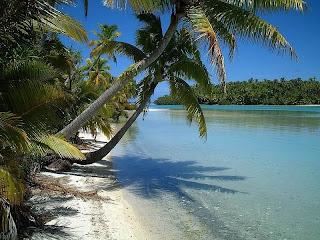 Aitutaki picnic and tourist spot