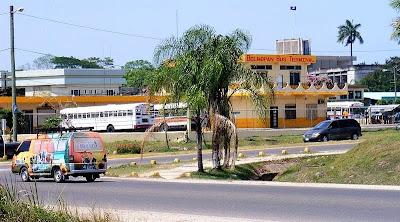 down town Belmopan