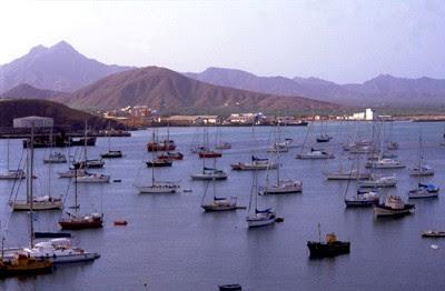 Mindelo port