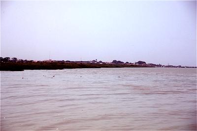 Bissau seen from Rio Geba
