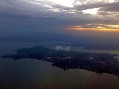 Entebbe ariel view