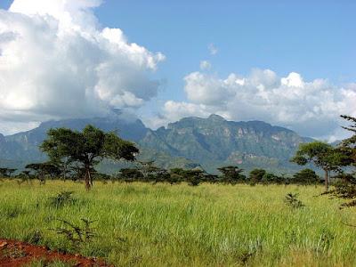 Mount Kadam in Uganda