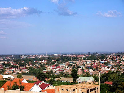 Kampala suburbs