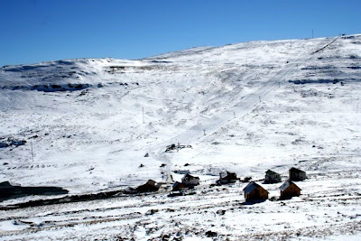 Afriski resort in Maluti mountains