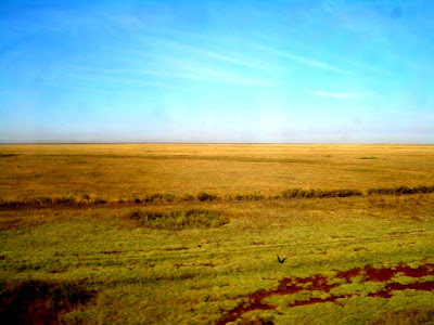 Steppe and lakes