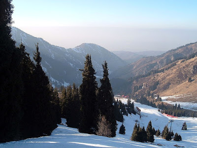 Shymbulak ski area