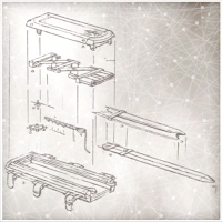 hidden blade mechanism. below is a image of the codex pages and pictures modified hidden blade which was built by leonardo da vinci . mechanism