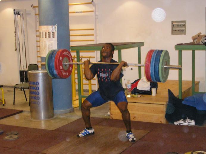 Dare Alabi , 77kg lifter (Nigeria)