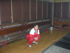 Sylvia, Bulgarian Junior lifter, wearing Botev shoes