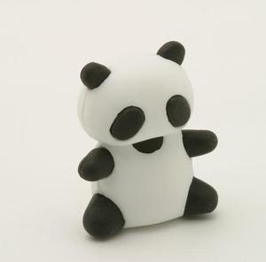iwako panda eraser
