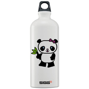 Sigg water bottle - gir panda