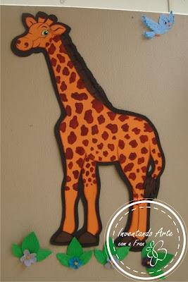 girafa arca de noé