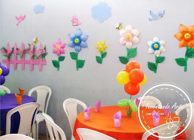 festa jardim flor EVA