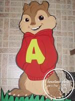 painel alvin e os esquilos 2