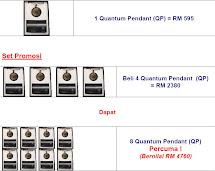 Promosi Quantum Pendant