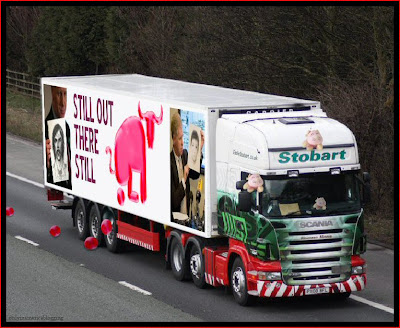 Official Find Madeleine FB page takes over the Eddie Stobart page Bullshitting