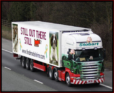 Official Find Madeleine FB page takes over the Eddie Stobart page Barking