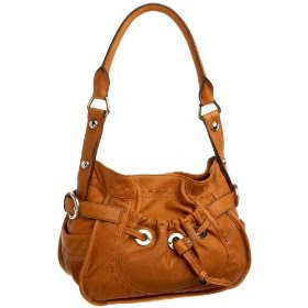 Bruce Makowsky Women's Leather Handbag Lisbon Shoulder Bag