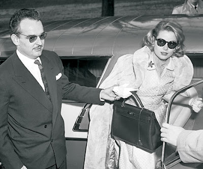 Grace Kelly with Hermes Kelly Bag