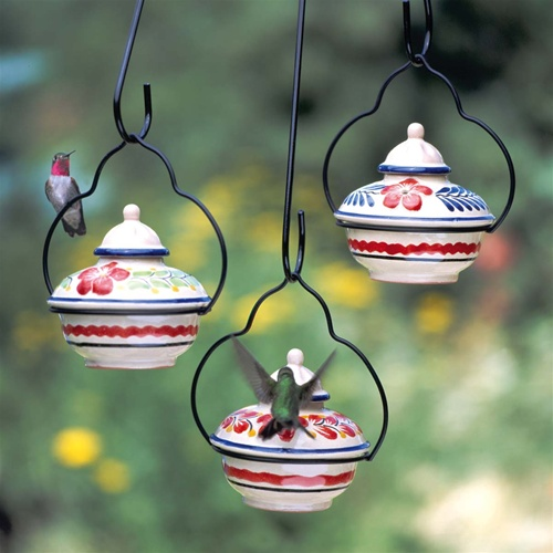 Passiflora home known for vintage style and delicate details these hummingbird feeders can dress up any backyard or garden mozeypictures Gallery