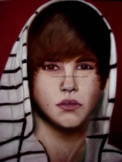 Justin Bieber Dibujo