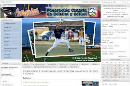 Nueva Web de la Federación Canaria de Béisbol y Sófbol