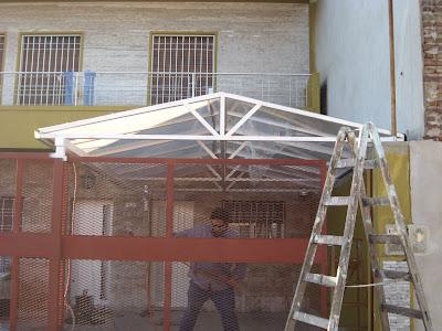 Herreria artistica y de obra soldaduras especiales - Escaleras de techo ...