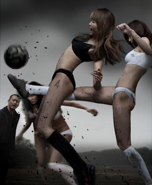 fotbal si femei