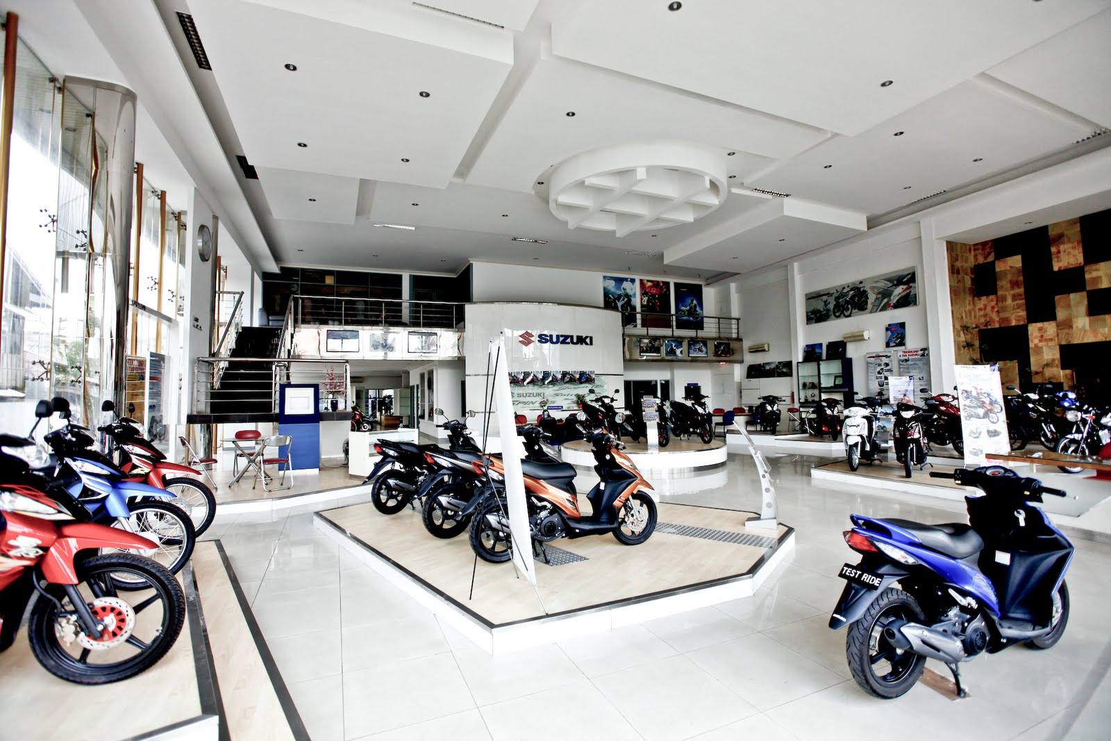 motorcycle dealership