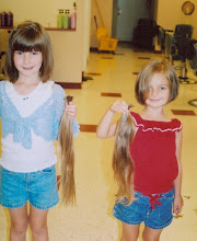 The girls donated to Locks of Love in '06