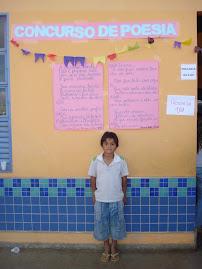 "Concurso de poesia -  Tema ""A minha escola"""