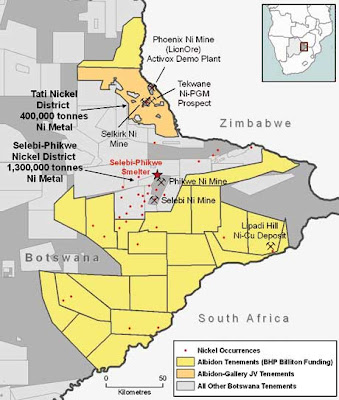 Spilpunt Nickel mining and exploration in Africa