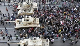 Pergantian Rezim Mesir – Hari Keberangkatan Mubarak - Krisis Mesir