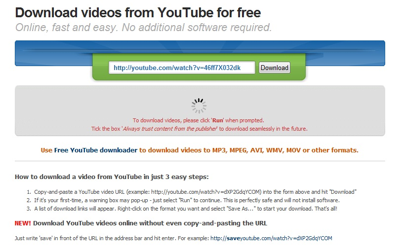 how to get videos to automatically download on youtube