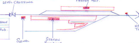 Hennock Track Plan