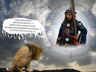 Jack Sparrow Dale Al Leon XD