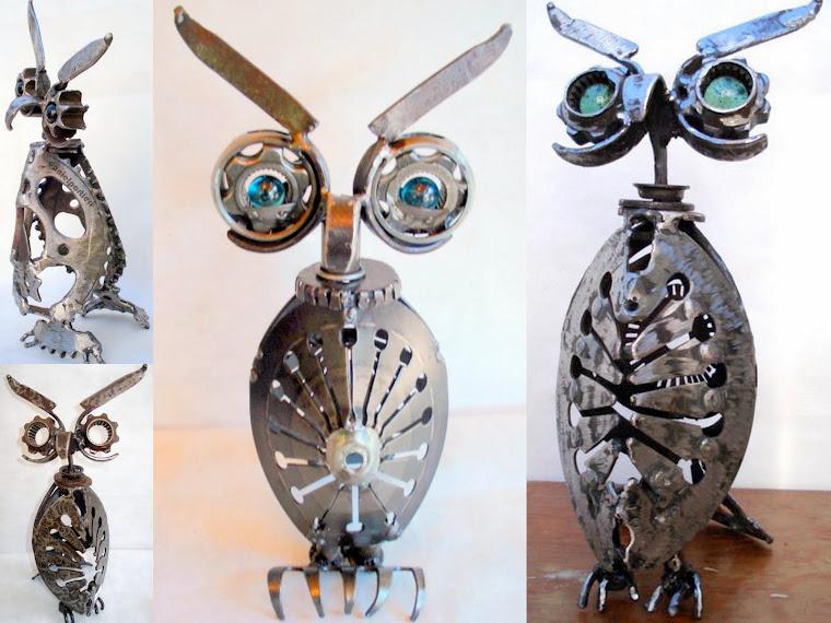 OWL  - esculturas